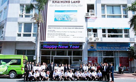 Khải Hưng Land chính thức khai trương Sàn giao dịch Nam Sài Gòn