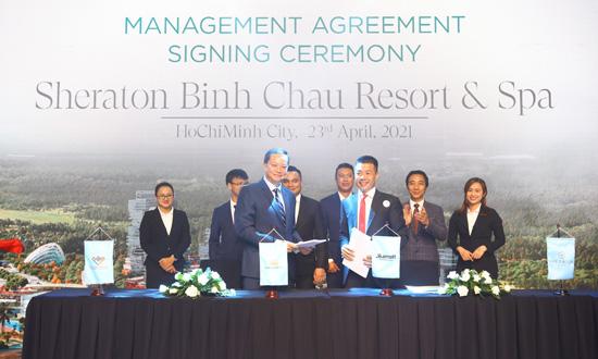 """Dự án Venezia Beach & Residences Resort được vận hành bởi """"ông lớn"""" Marriott International"""