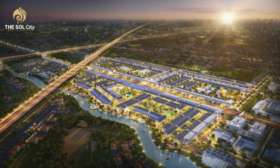 Vị trí và tiềm năng phát triển dự án The Sol City Nam Sài Gòn